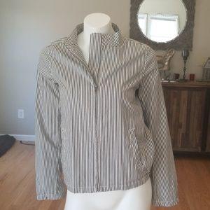 Madewell cropped bomber jacket